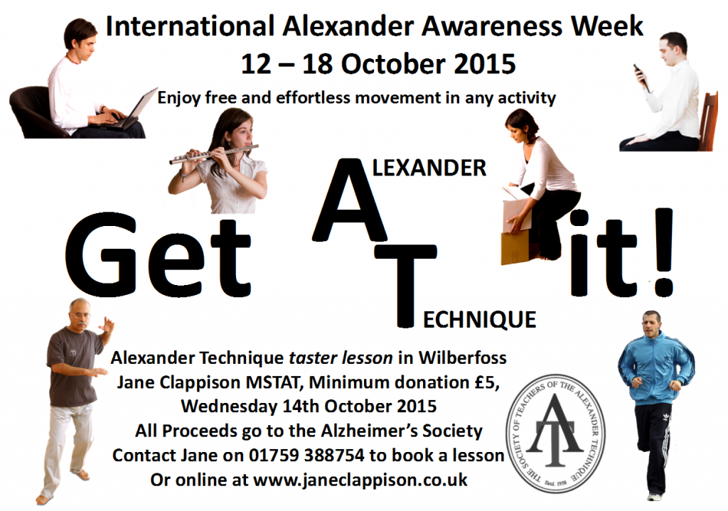 International Alexander Awareness Week Poster 2015